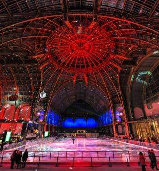 Magical festivities at the Grand Palais des Glaces