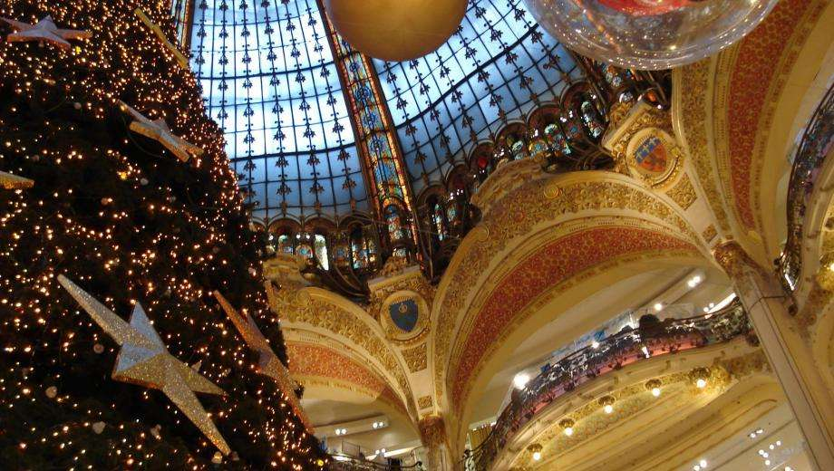 Paris is celebrating Christmas