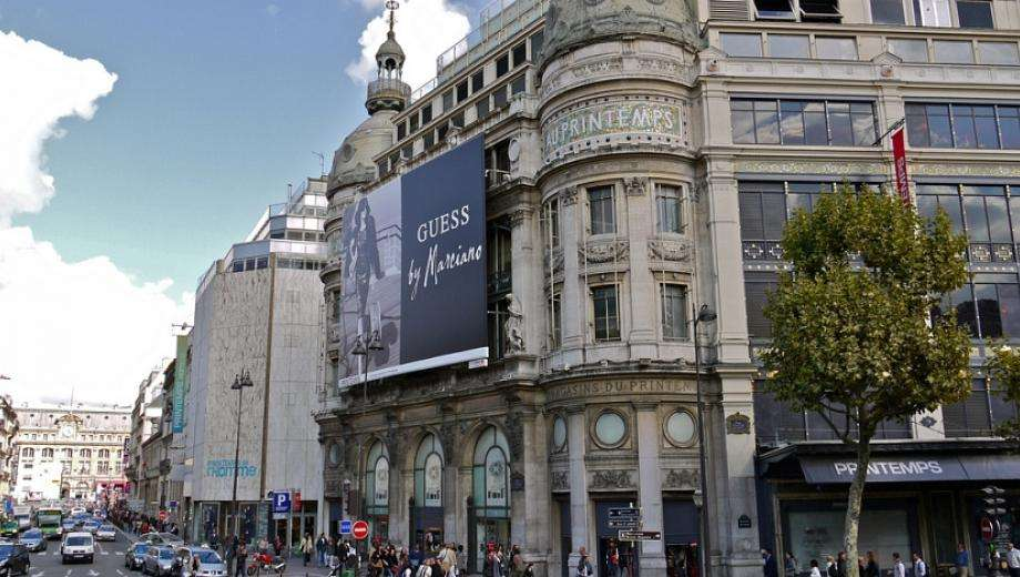 150 years of Printemps brand in the capital of fashion