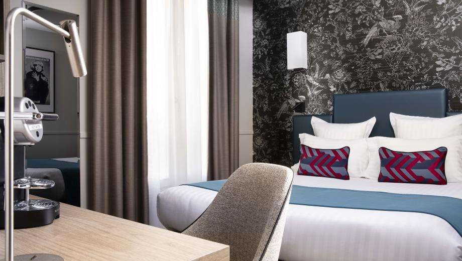The Hotel Daunou Opéra gets a makeover for its autumn reopening