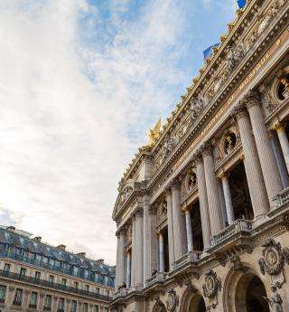 A must-see in Paris; the Opera district