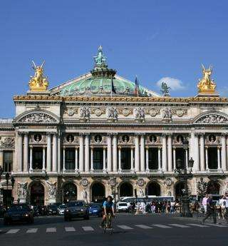 Visiting the Opera Garnier; a guide