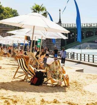 Profiter de la saison estivale à Paris Plages
