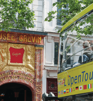 The newly renovated Grévin Museum