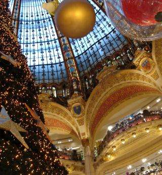 Paris is celebrating Christmas