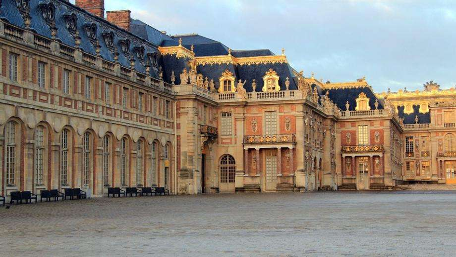 The Palace of Versailles and the Night Fountains Show
