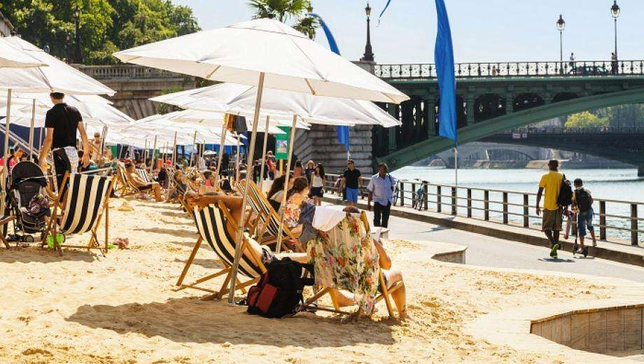 Take advantage of the summer sunshine with Paris Plages