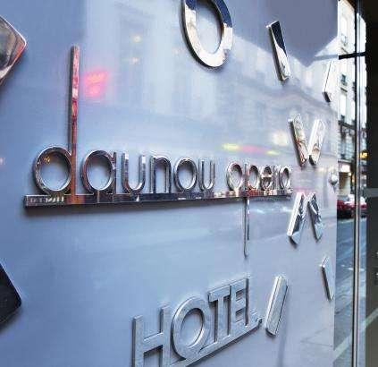 Hotel Daunou - Entrée