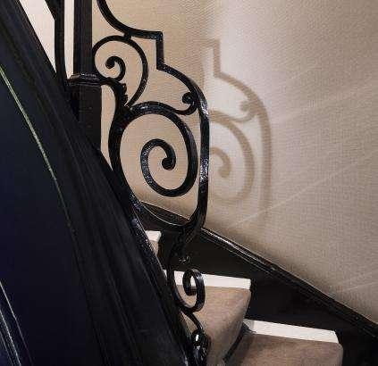 Hotel Daunou - Escalier