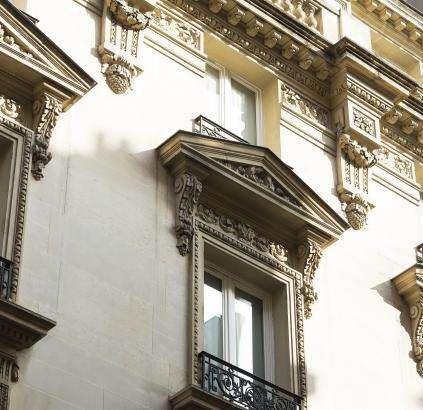 Hotel Daunou - Façade